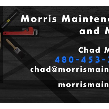Morris Maintenance card