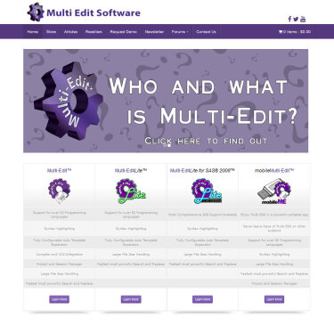 Multi Edit Software site